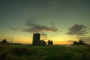 Dsc-knowlton-church-at-sunrise