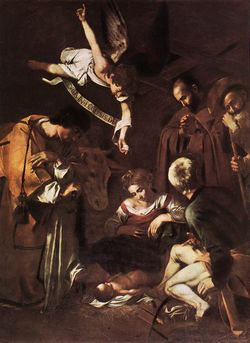 8114-nativity-with-st-francis-and-st-law-caravaggio