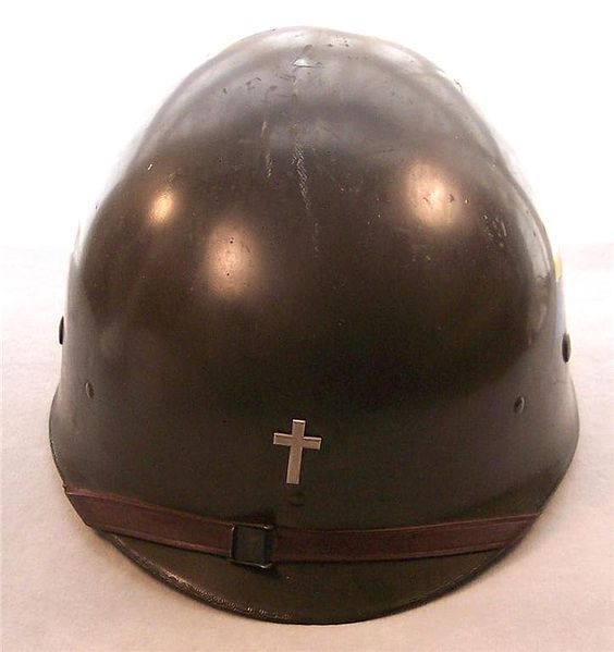 Christian Chaplain Helmet