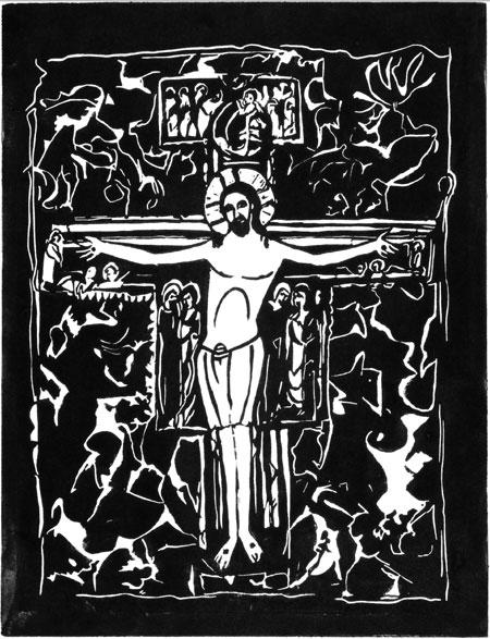 The San Damiano Cross from Common Prayer Pocket Edition